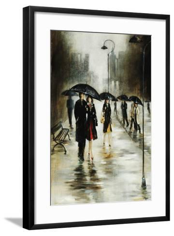 Brisk Evening Walk-Rikki Drotar-Framed Art Print