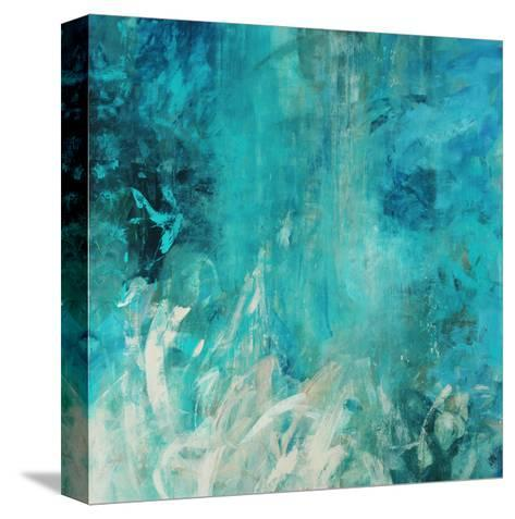 Aqua Falls-Jodi Maas-Stretched Canvas Print
