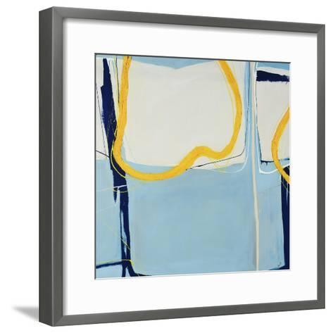 Whip it Blue-Sydney Edmunds-Framed Art Print