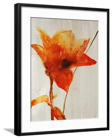 Lillies III-Rikki Drotar-Framed Art Print