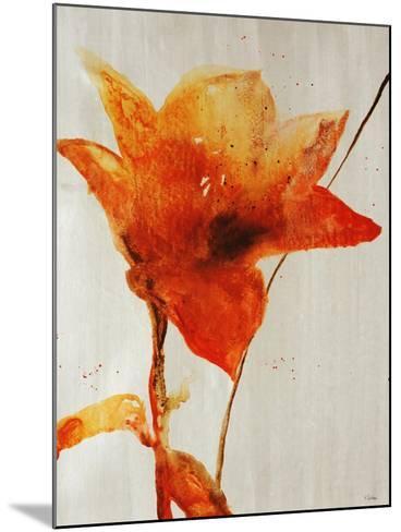 Lillies III-Rikki Drotar-Mounted Giclee Print