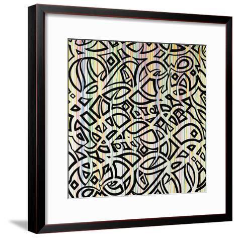 Graffiti Flare-Sydney Edmunds-Framed Art Print