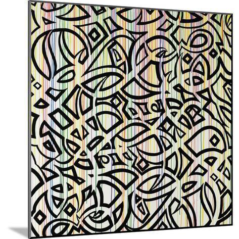 Graffiti Flare-Sydney Edmunds-Mounted Giclee Print
