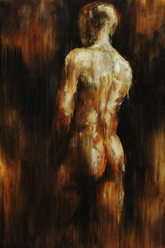Male Nude I-Sydney Edmunds-Stretched Canvas Print