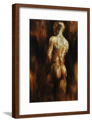 Male Nude I-Sydney Edmunds-Framed Art Print
