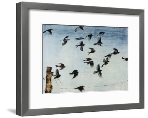 Sparrows-Kari Taylor-Framed Art Print