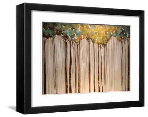 Light in the Leaves-Kari Taylor-Framed Art Print