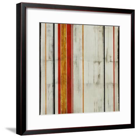 Pin Stripe II-Joshua Schicker-Framed Art Print