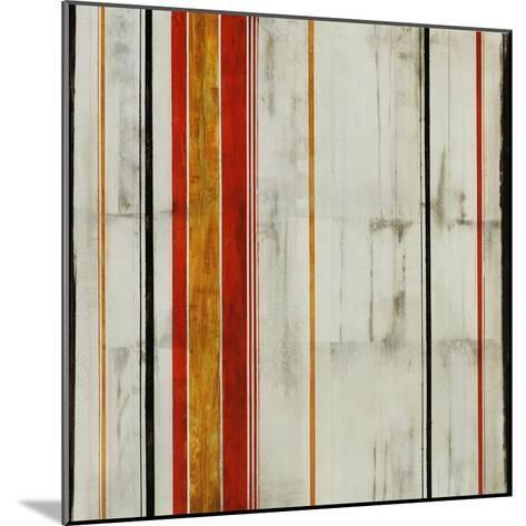 Pin Stripe II-Joshua Schicker-Mounted Giclee Print
