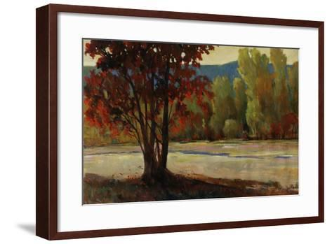 Sign of Fall II-Tim O'toole-Framed Art Print
