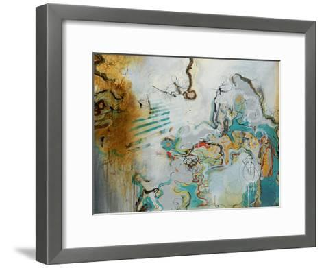 Playful Banter-Rikki Drotar-Framed Art Print