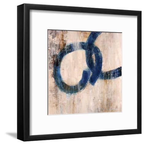 Lapis Rings I-Jodi Maas-Framed Art Print