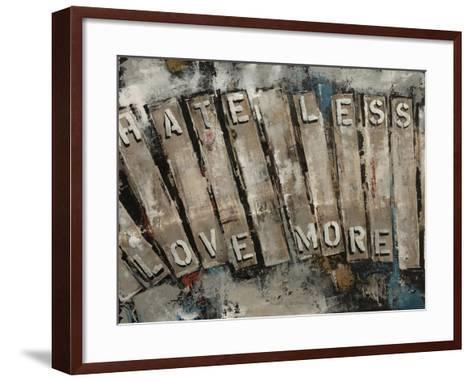 Key Words II-Sydney Edmunds-Framed Art Print