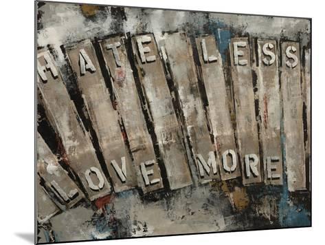Key Words II-Sydney Edmunds-Mounted Giclee Print