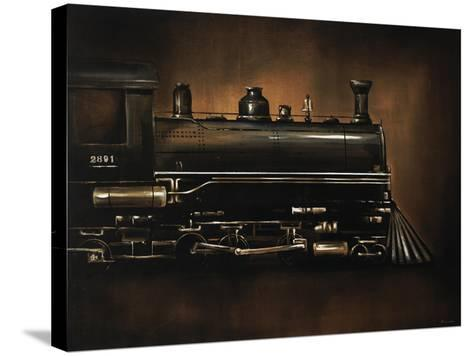 Steam Engine-Sydney Edmunds-Stretched Canvas Print