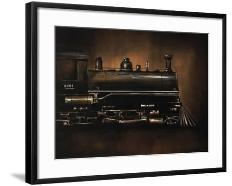 Steam Engine-Sydney Edmunds-Framed Art Print