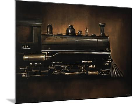 Steam Engine-Sydney Edmunds-Mounted Giclee Print