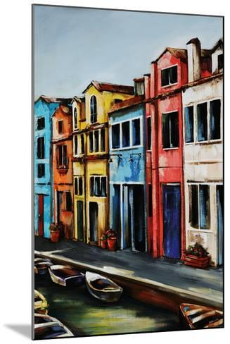 Canal Street-Sydney Edmunds-Mounted Giclee Print