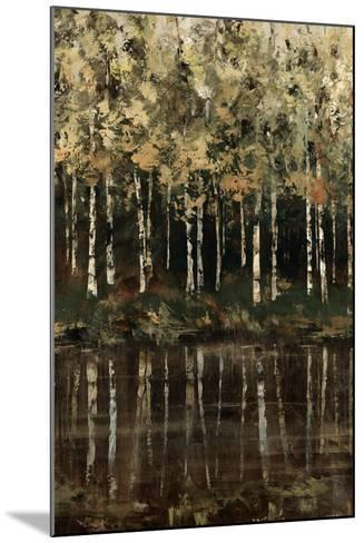 Birch Trees-Sydney Edmunds-Mounted Giclee Print