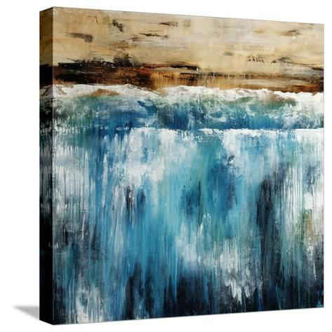 Waterline by the Coast-Sydney Edmunds-Stretched Canvas Print