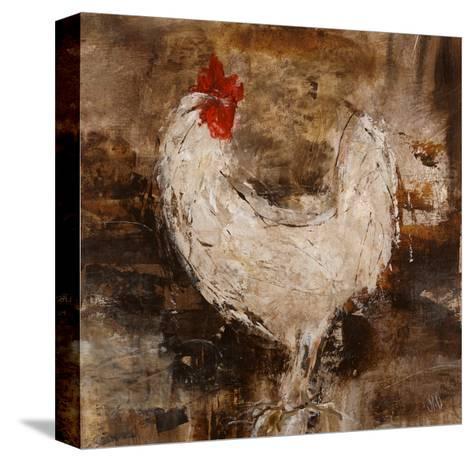 Backyard Guest II-Jodi Maas-Stretched Canvas Print