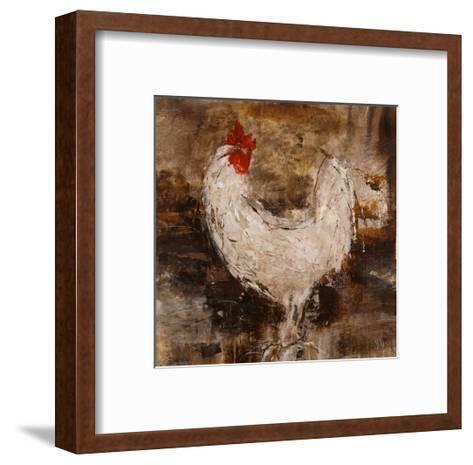 Backyard Guest II-Jodi Maas-Framed Art Print