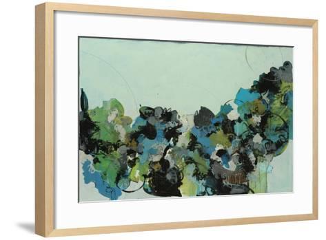 Black and Blue-Kari Taylor-Framed Art Print