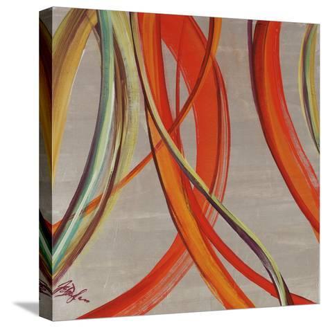 Swirl Pearl-Farrell Douglass-Stretched Canvas Print