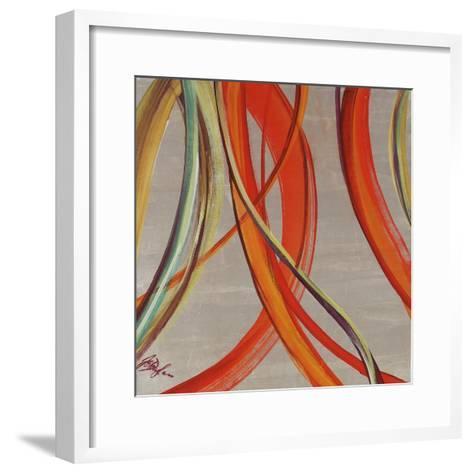 Swirl Pearl-Farrell Douglass-Framed Art Print