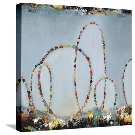Roller Coaster Rainbow-Sydney Edmunds-Stretched Canvas Print
