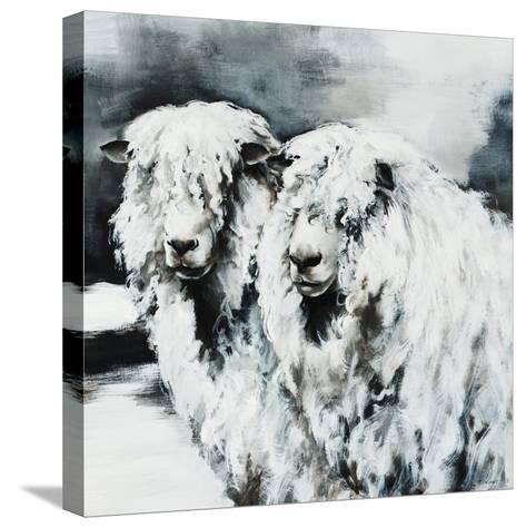 Sheepish-Sydney Edmunds-Stretched Canvas Print
