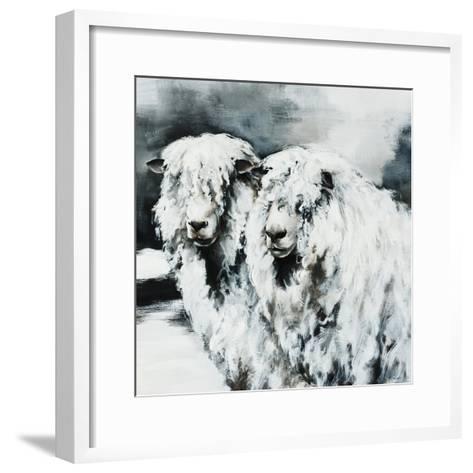 Sheepish-Sydney Edmunds-Framed Art Print