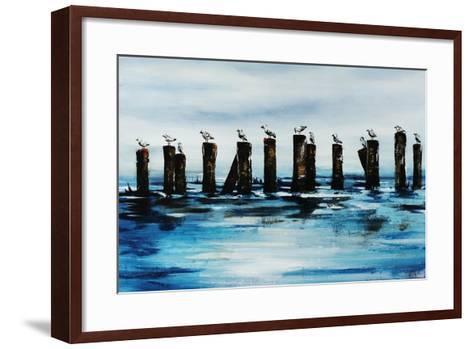 The Line Up-Sydney Edmunds-Framed Art Print