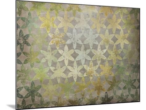 Celadon Flowers-Kari Taylor-Mounted Giclee Print