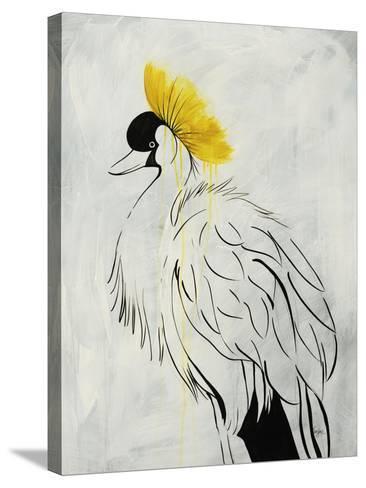 Poseur II-Kari Taylor-Stretched Canvas Print