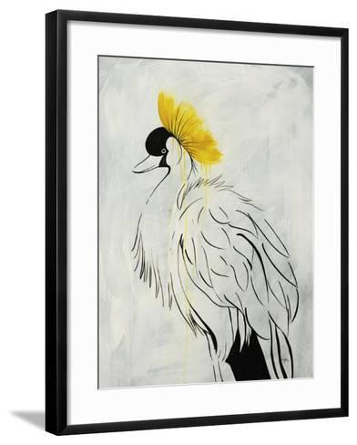 Poseur II-Kari Taylor-Framed Art Print