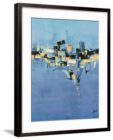 Happy Town II-Farrell Douglass-Framed Art Print