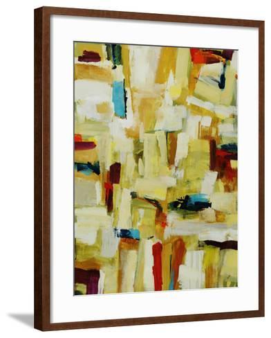 Sun Storm Strokes-Clayton Rabo-Framed Art Print