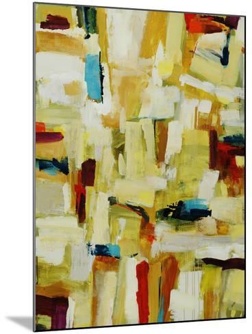 Sun Storm Strokes-Clayton Rabo-Mounted Giclee Print