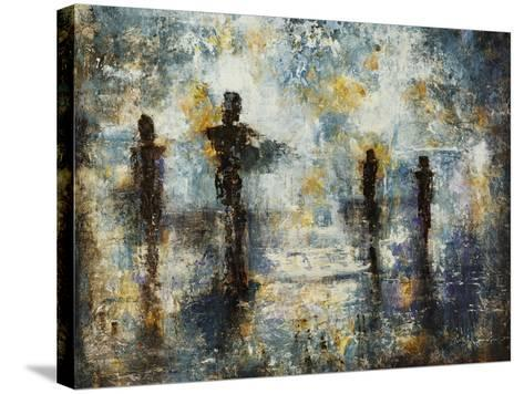 Sunset Stroll-Alexys Henry-Stretched Canvas Print