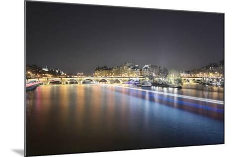 Paris from Pont des Arts-Philippe Manguin-Mounted Photographic Print