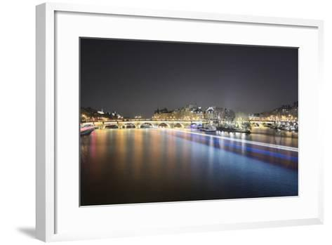 Paris from Pont des Arts-Philippe Manguin-Framed Art Print