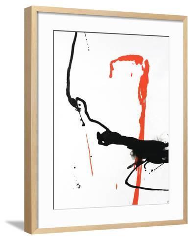 Ink Blot II-Sydney Edmunds-Framed Art Print