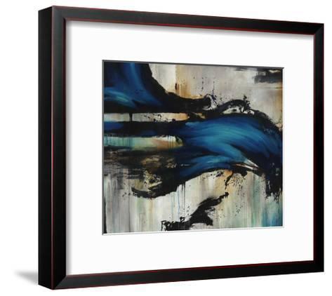 Midnight Splash-Rikki Drotar-Framed Art Print