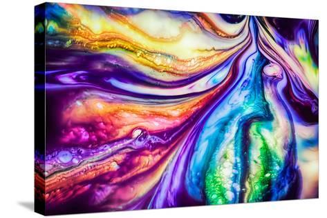 Flow-Ursula Abresch-Stretched Canvas Print