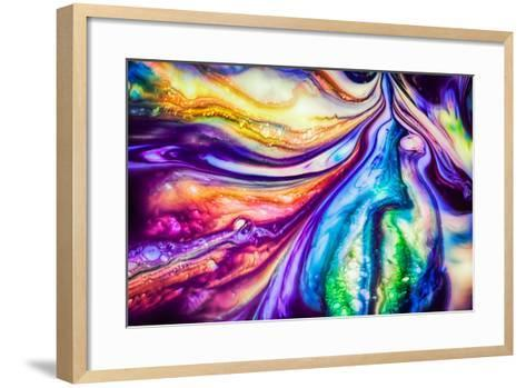 Flow-Ursula Abresch-Framed Art Print