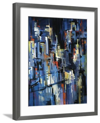 Night Lights-Sydney Edmunds-Framed Art Print