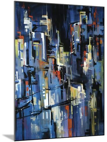 Night Lights-Sydney Edmunds-Mounted Giclee Print