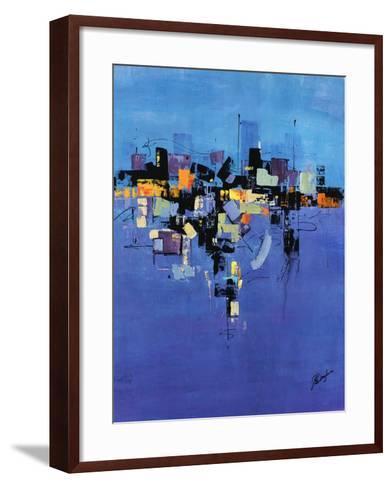 Happy Town I-Farrell Douglass-Framed Art Print