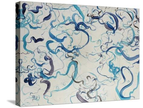 Custom Scribble-Kari Taylor-Stretched Canvas Print